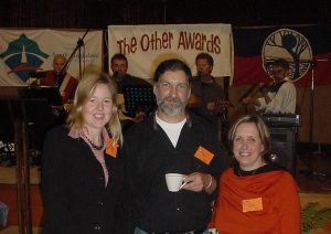 Sally, Neil Smith and Helen Shiel