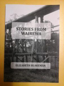 Stories of Wairewa by Elizabeth Blakeman cover