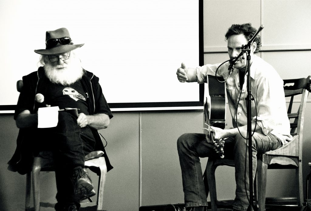 Unscripted musical conversation with Neil Murray and Jan Wositky.